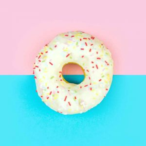 Donut food craving