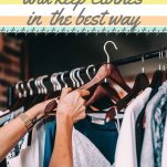 26 Tips to Store and Keep Clothes in the Best Way Pinterest Pin