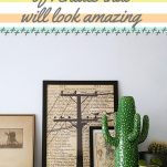 Ways for Renters to Decorate That Happen to Look Amazing Pinterest Pin