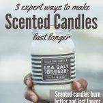 Make Scented Candles Last Longer Pinterest Pin