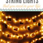 Decorate with String Lights Pinterest Pin