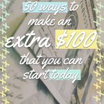 50 Ways to Make $100 Pinterest Pin