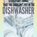 Things You Should Never Clean in a Dishwasher Pinterest Pin