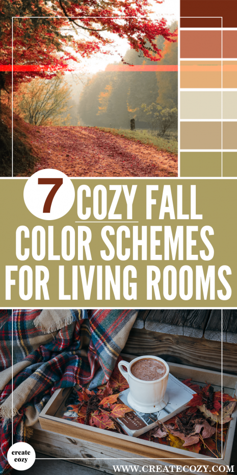 If you're looking for some cozy fall decor ideas and inspiration for your living room then you have to check out this post!