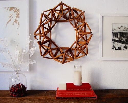 modern diy holiday wreaths