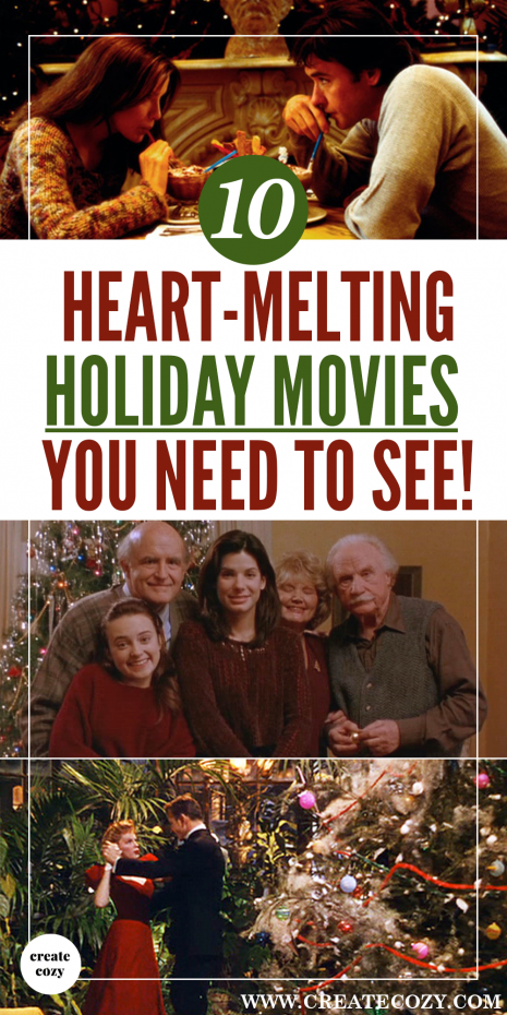 The best list of Romantic holiday and Christmas love stories, classic movies, black and white movies, festive movies and romantic comedies for Christmas and the holiday season