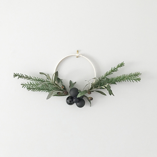Minimalist Christmas Wreath