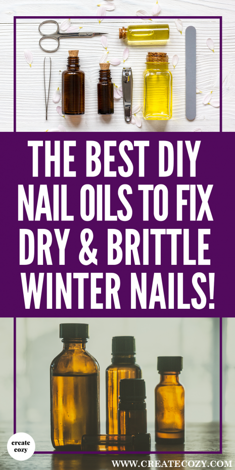 My nails get so dry and weak, especially in a cold winter, these super-moisturizing DIY cuticle oil recipes and ideas are the best, they're going to save me of money too!