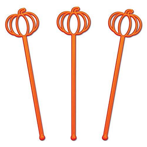 Pumpkin Swizzle Sticks