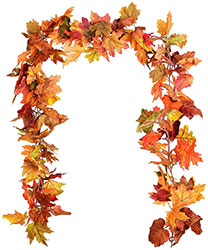 Fall garland decor
