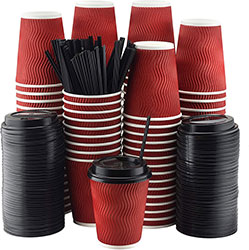 Hot Chocolate Disposable Cups