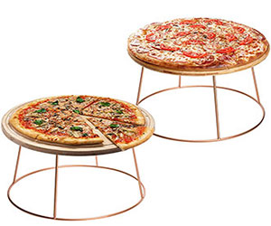 Rose Gold Pizza Riser