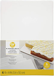 Rectangular Cake Board Set