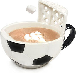 Soccer Hot Chocolate Mug
