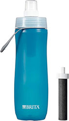 20 Ounce Sport Water Bottle with Filter - BPA Free