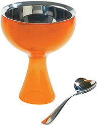 Alessi Ice cream Bowl and Spoon