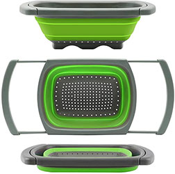 Colander collapsible