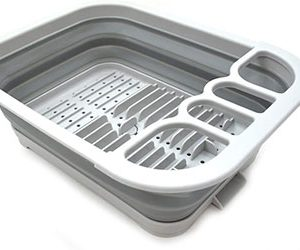Collapsible Dish Drainer with Drainer Board