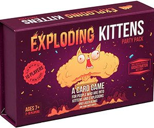 Exploding Kittens Card Game--Party Pack for Up to 10 Players