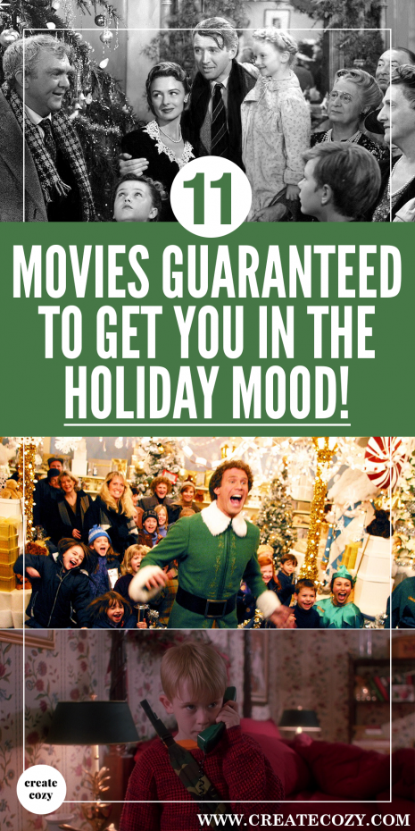 Do you want to watch some feelgood movies that are guaranteed to get you into the Christmas or holiday spirit? Look no further for your holiday movie inspiration this festive season!