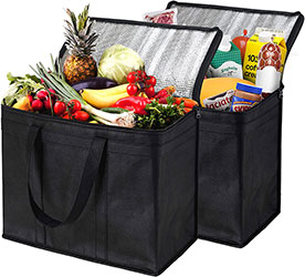 Insulated Shopping Bags for Groceries