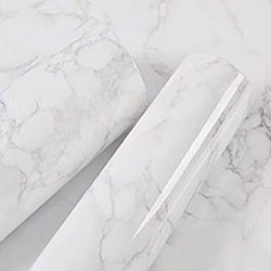 Marble Paper Granite Gray and White Roll