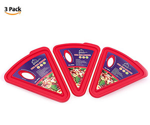 Pizza slice container set