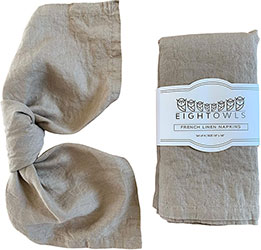 Pure Linen Cloth Napkins