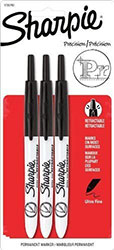 Sharpie Ultra Fine Point Retractable Permanent Markers