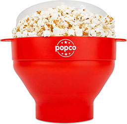 The Original Popco Silicone Microwave Popcorn