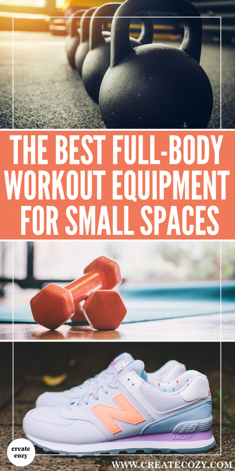 Trying to get healthier at home? If you're looking for gym and exercise equipment to fit in a small space then this post is for you.