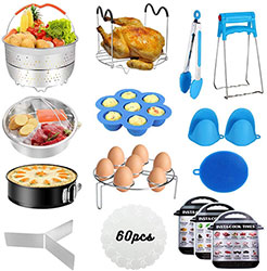 Accessories for Instant Pot, 76 PCS Accessories