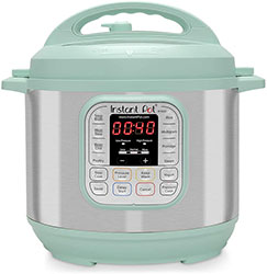 Instant Pot Duo Nova Pressure Cooker 7 in 1, 6 Qt, Best for Beginners Teal